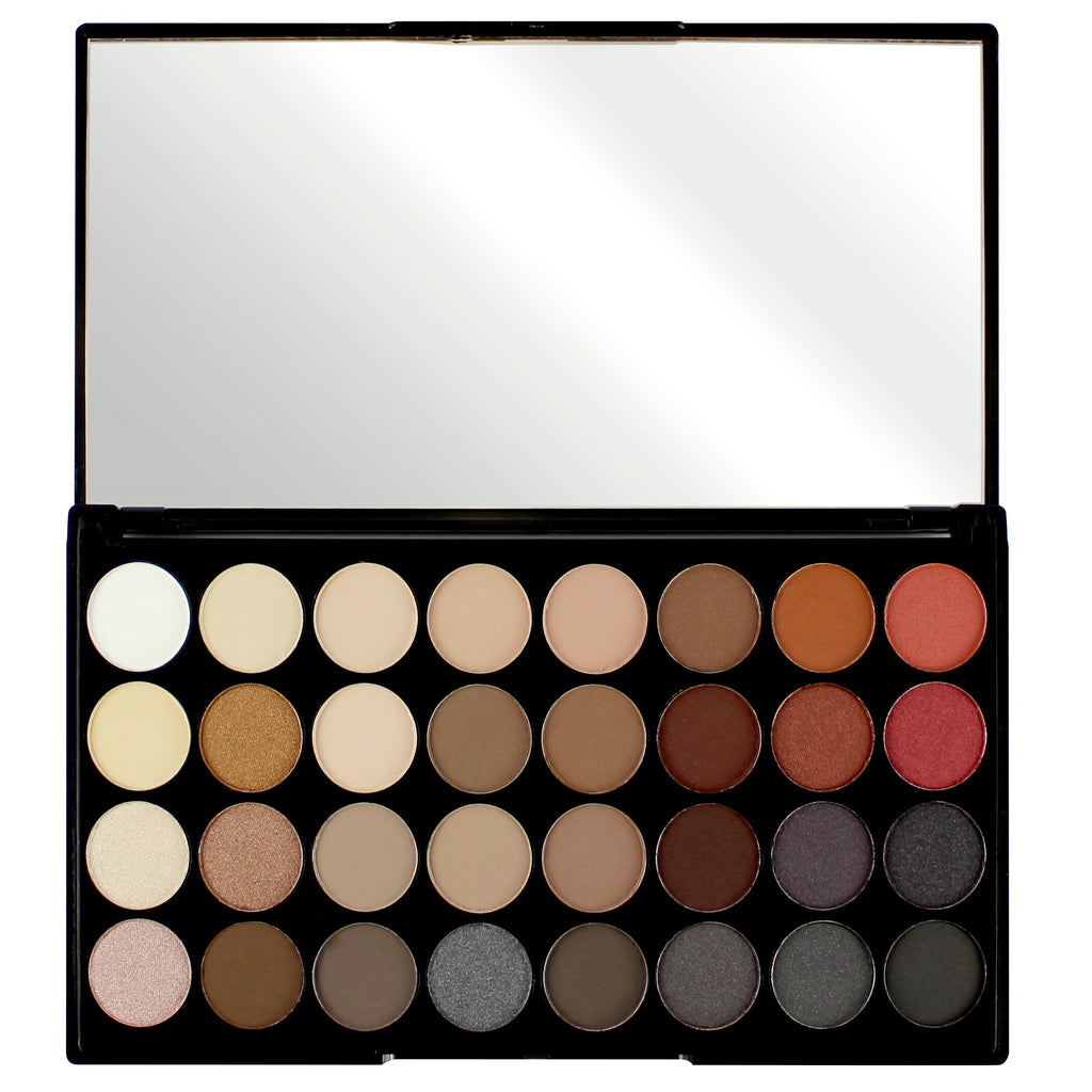 MAKEUP REVOLUTION Ultra 32 Shade Eyeshadow Palette - Flawless 2
