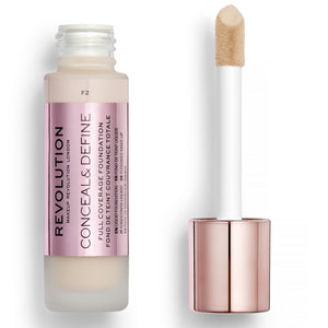 MAKEUP REVOLUTION Conceal & Define Foundation - F2