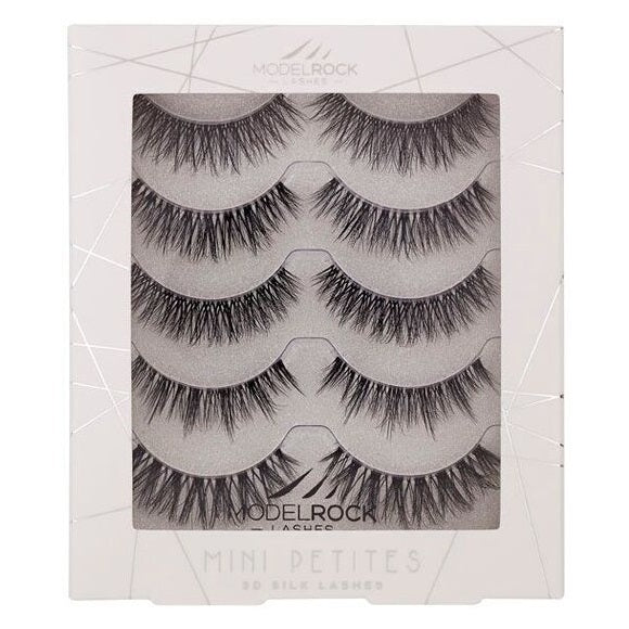 MODELROCK 3D Silk Mini Petites Lashes Multipack - Everyday Naturals