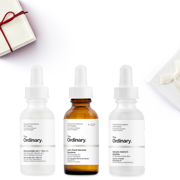 THE ORDINARY Bye Bye Blemish Subscription Set  (RRP $41.40)