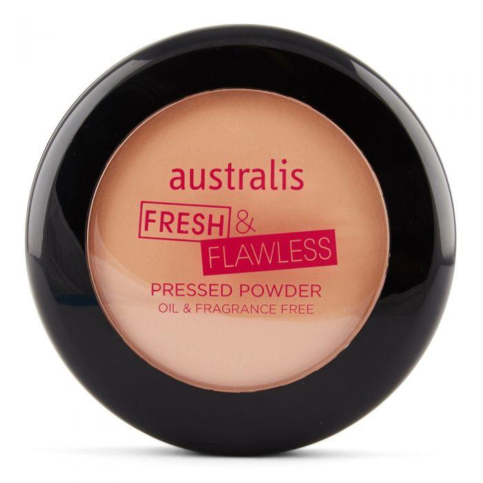 AUSTRALIS Fresh & Flawless Powder - Darkest Brown