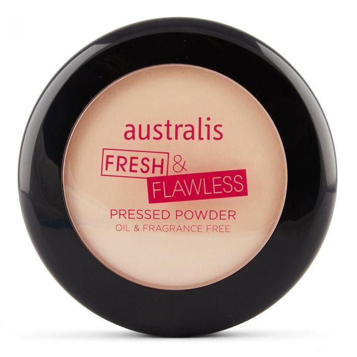 AUSTRALIS Fresh & Flawless Powder - Light Beige
