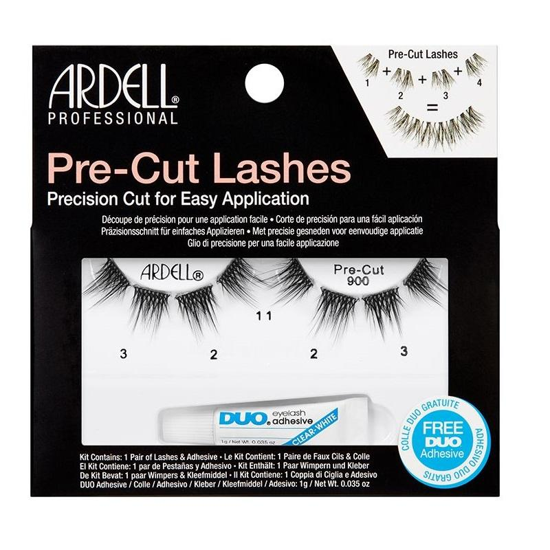 ARDELL Pre-Cut Lashes - 900 Black