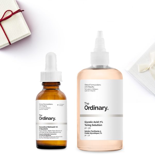 THE ORDINARY Smooth Skin Subscription Set (RRP $48.95)