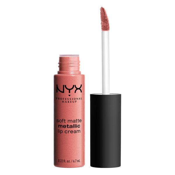 NYX PROFESSIONAL MAKEUP Soft Matte Metallic Lip Cream - Cannes