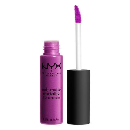 NYX PROFESSIONAL MAKEUP Soft Matte Metallic Lip Cream - Seoul