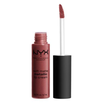 NYX PROFESSIONAL MAKEUP Soft Matte Metallic Lip Cream - Rome
