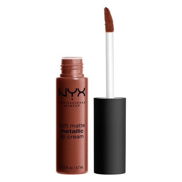 NYX PROFESSIONAL MAKEUP Soft Matte Metallic Lip Cream - Dubai