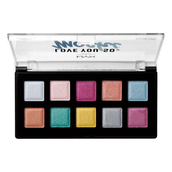 NYX PROFESSIONAL MAKEUP Love You So Mochi Eyeshadow Palette - Electric Pastels