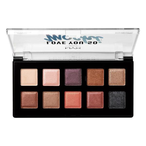 NYX PROFESSIONAL MAKEUP Love You So Mochi Eyeshadow Palette - Sleek and Chic