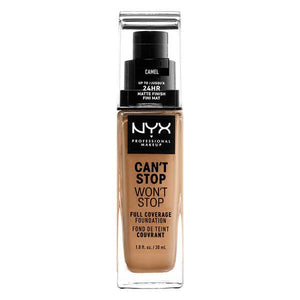 NYX PROFESSIONAL MAKEUP Can't Stop Won't Stop Full Coverage Foundation - Camel