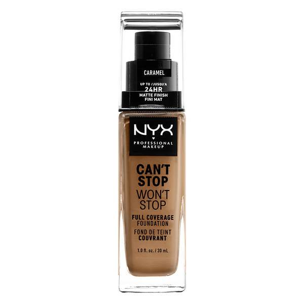 NYX PROFESSIONAL MAKEUP Can't Stop Won't Stop Full Coverage Foundation - Caramel