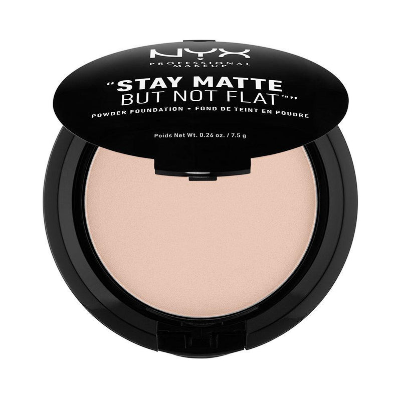NYX PROFESSIONAL MAKEUP Stay Matte But Not Flat Powder Foundation - Creamy Natural