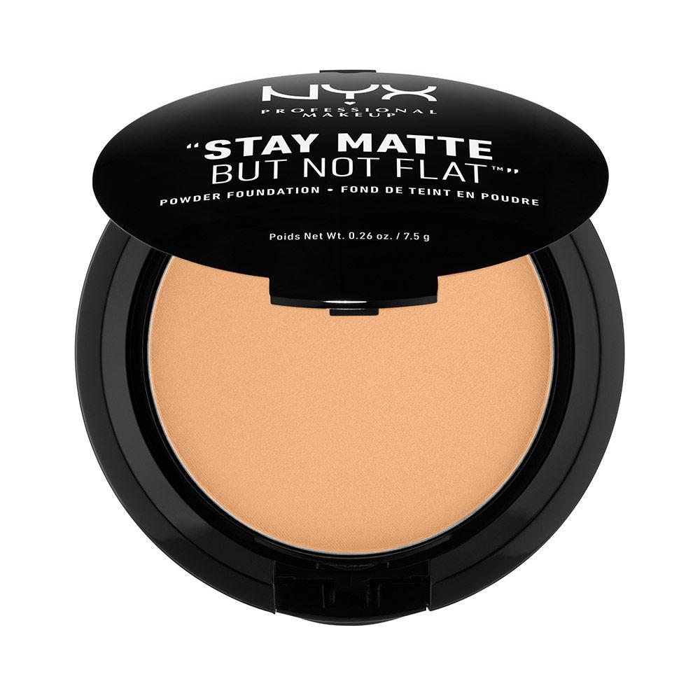 NYX PROFESSIONAL MAKEUP Stay Matte But Not Flat Powder Foundation - Soft Beige