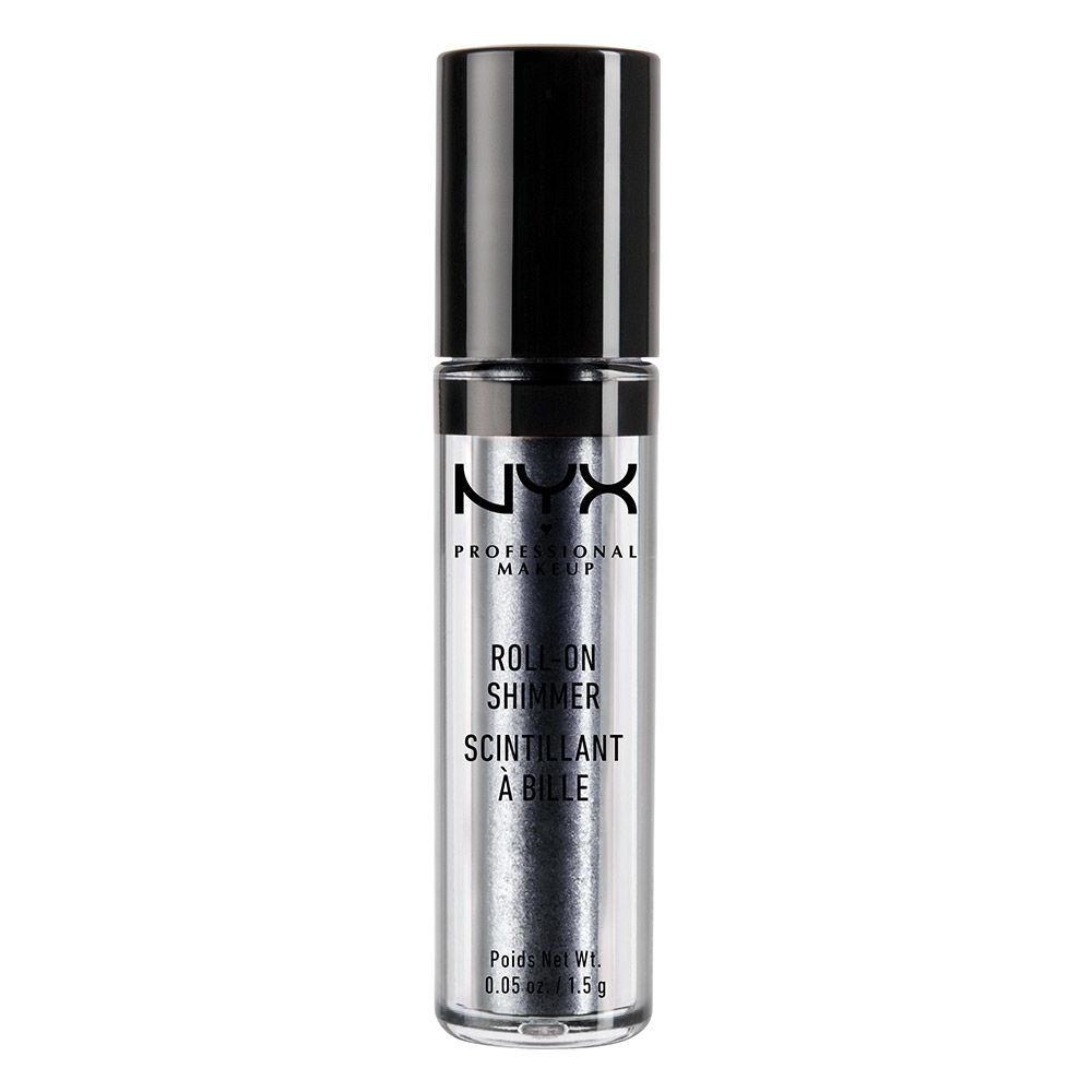 NYX PROFESSIONAL MAKEUP Roll On Eye Shimmer - Onyx