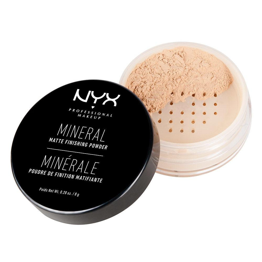 NYX PROFESSIONAL MAKEUP Mineral Finishing Powder - Light / Medium