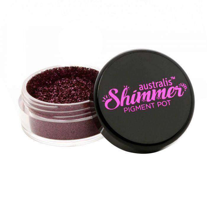 AUSTRALIS Shimmer Pigment Pot - Beaming Berry