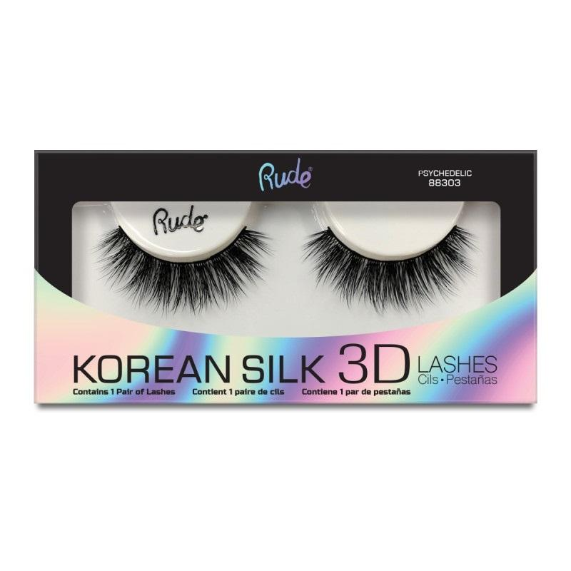 RUDE Korean Silk 3D Lashes - Psychedelic