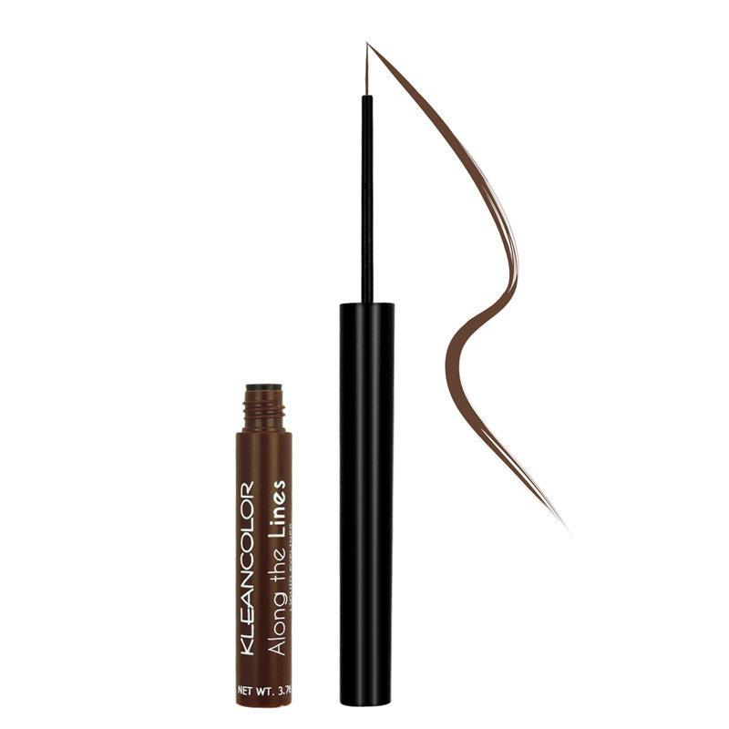 KLEANCOLOR Along The Lines Liquid Eyeliner - Gingerbread