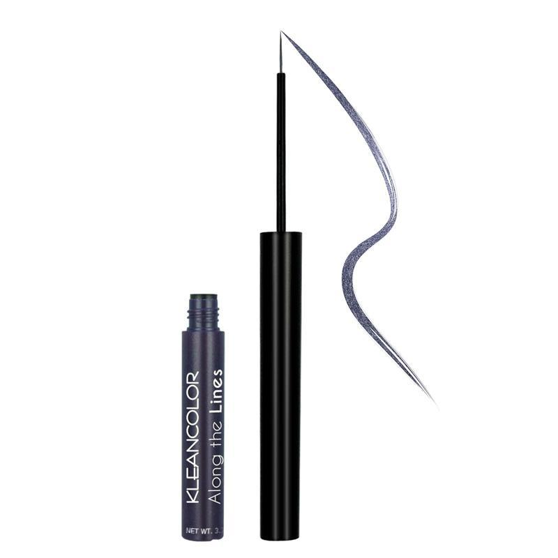 KLEANCOLOR Along The Lines Liquid Eyeliner - Smoky Blue
