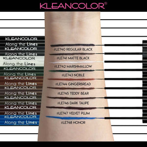 KLEANCOLOR Along The Lines Liquid Eyeliner - Honor