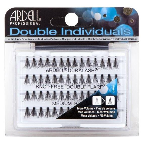 ARDELL Double Individuals Knot-Free Double Flares - Medium Black