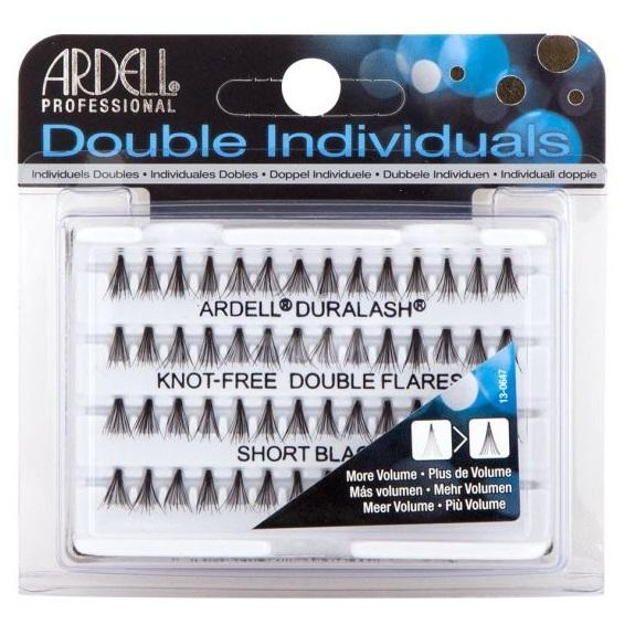ARDELL Double Individuals Knot-Free Double Flares - Short Black