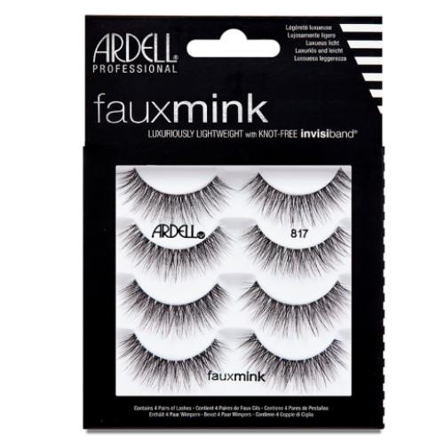 ARDELL Faux Mink 4 Pack - 817 Black