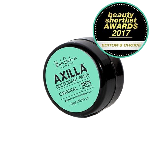 BLACK CHICKEN REMEDIES Axilla Natural Deodorant Paste Original - Mini