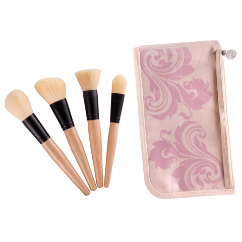 COASTAL SCENTS 4 Piece Eyes Brush Set
