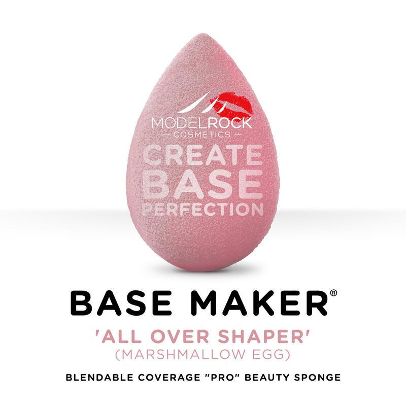 MODELROCK Base Maker Sponge - All Over Shaper (Marshmallow Pink Egg)