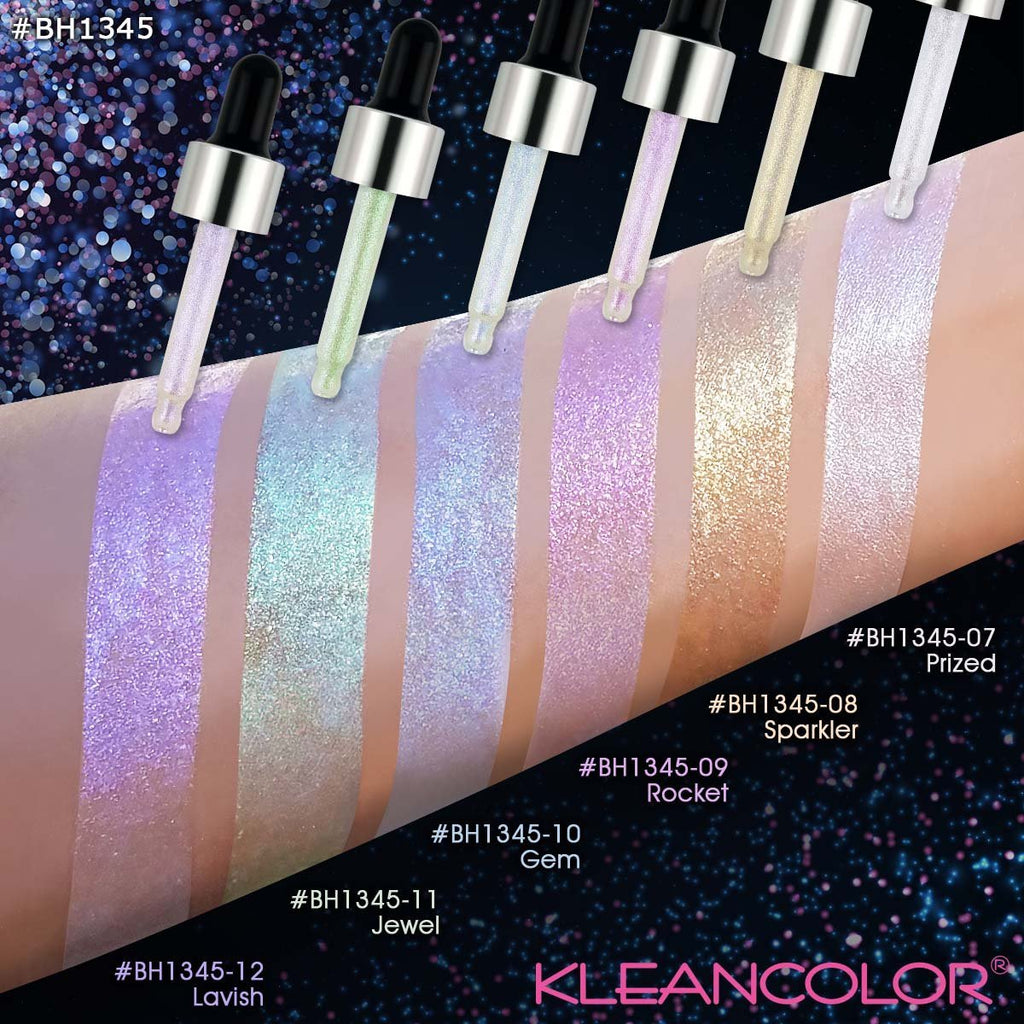 KLEANCOLOR Beam Boost Liquid Glitter Drops - Jewel
