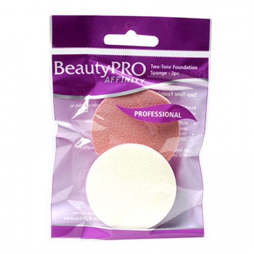 BEAUTYPRO Affinity Two-Tone Foundation Sponge (2-Pack)