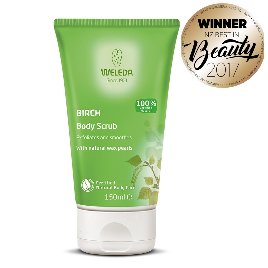 WELEDA Birch Body Scrub (150 ml)