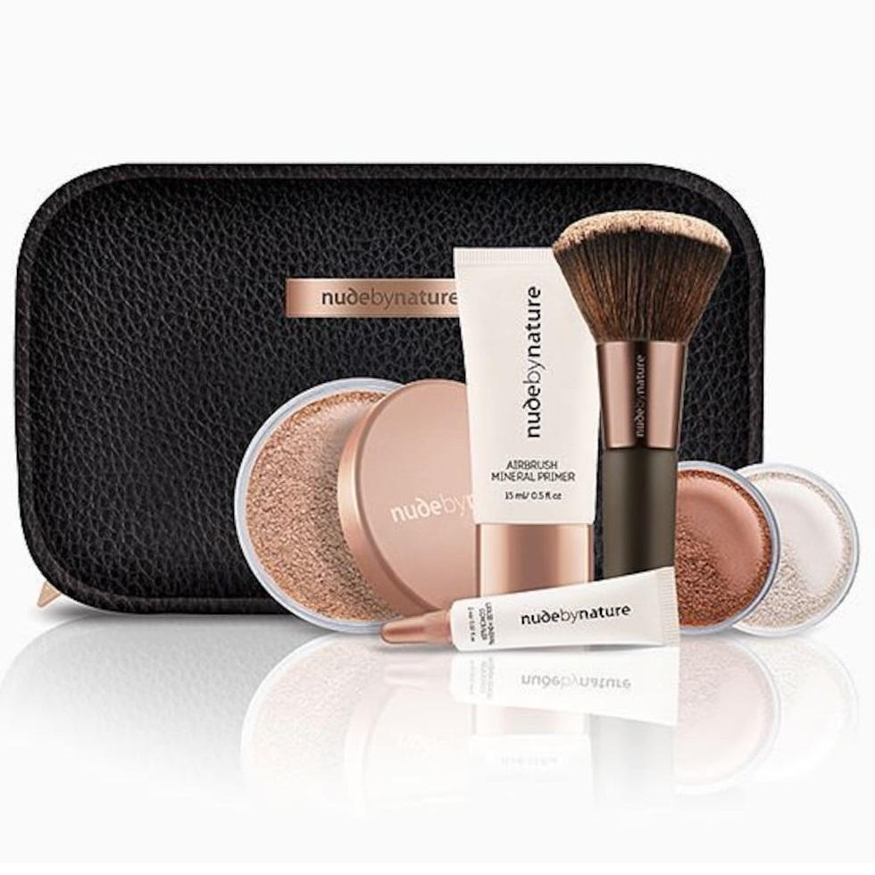 NUDE BY NATURE Complexion Essentials Starter Kit - Light / Medium