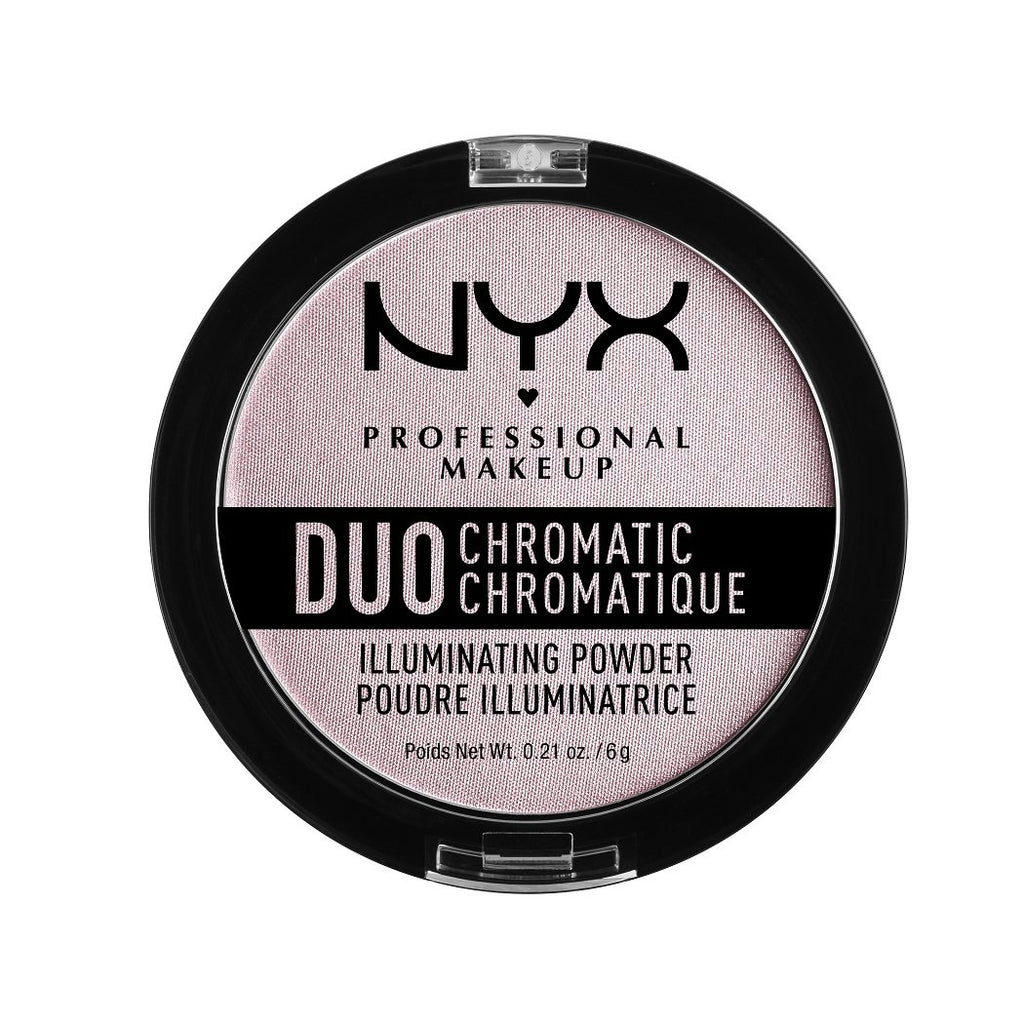 NYX PROFESSIONAL MAKEUP Duo Chromatic Illuminating Powder - Lavender Steel