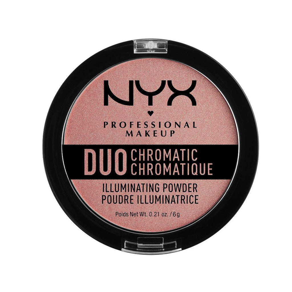 NYX PROFESSIONAL MAKEUP Duo Chromatic Illuminating Powder - Crushed Bloom
