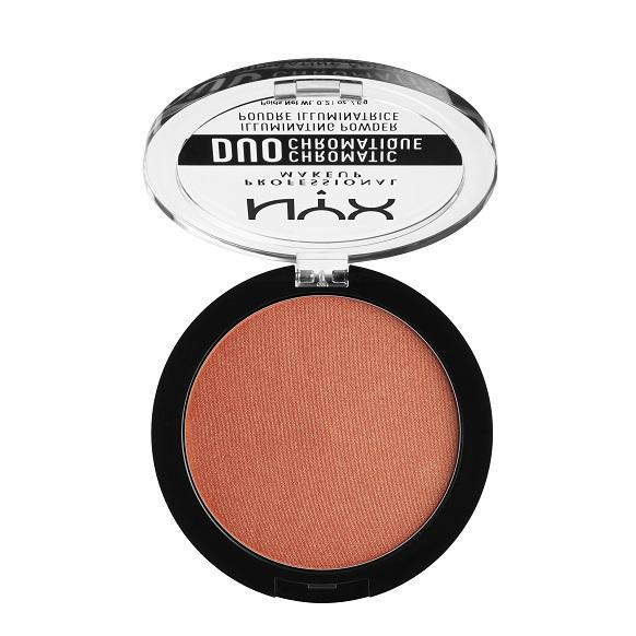 NYX PROFESSIONAL MAKEUP Duo Chromatic Illuminating Powder - Synthetica