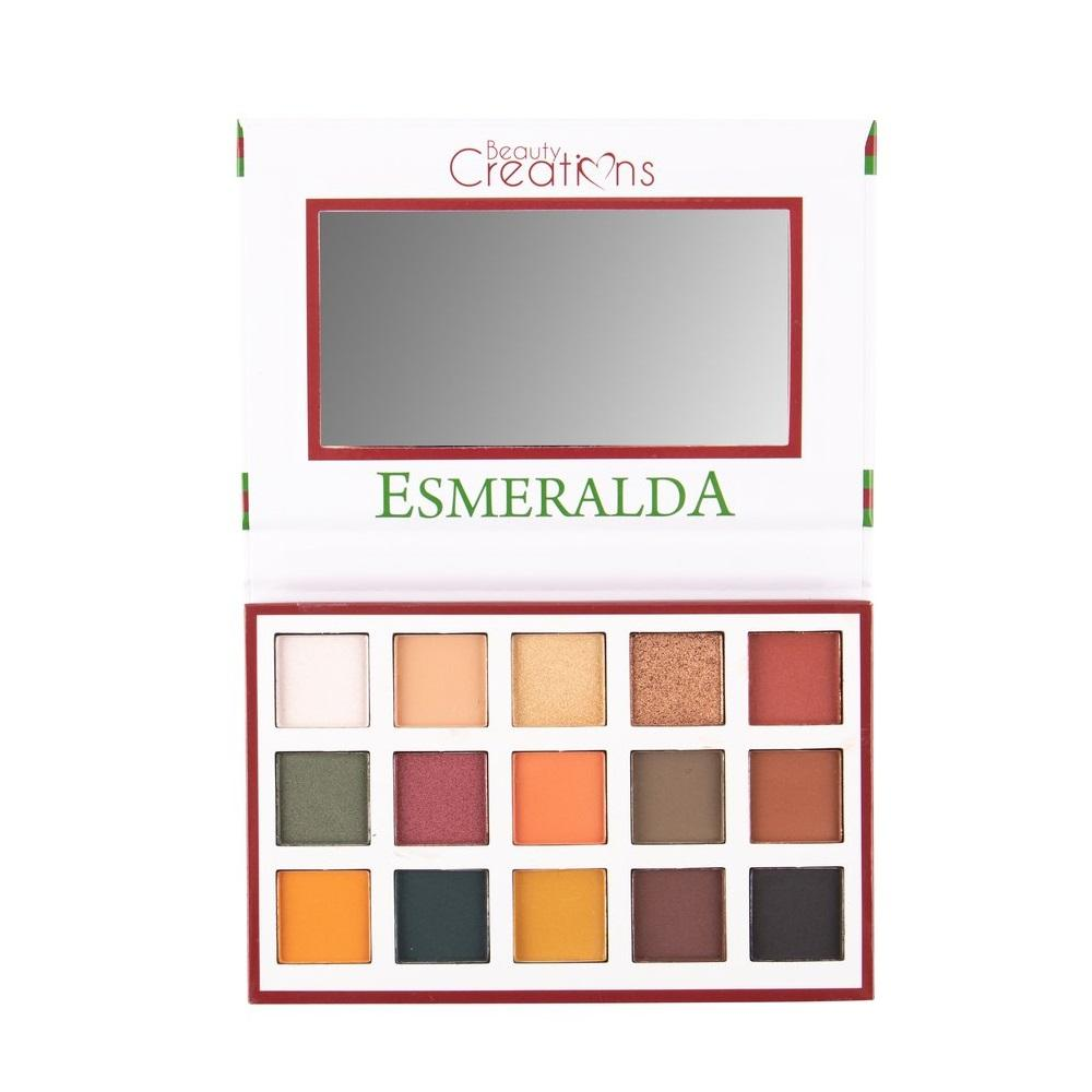 BEAUTY CREATIONS Esmeralda 1 - 15 Color Eyeshadow Palette