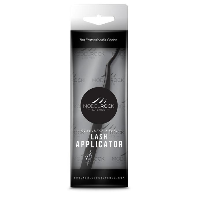 MODELROCK Stainless Steel Lash Applicator - Black