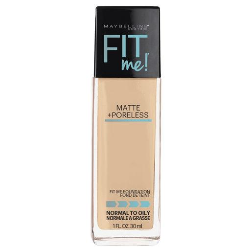 MAYBELLINE Fit Me Matte + Poreless Foundation - Creamy Beige #122