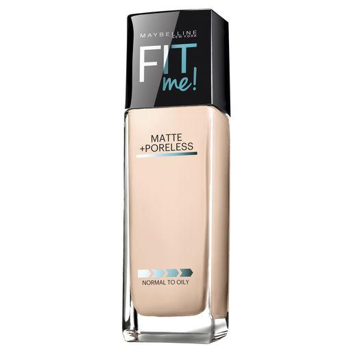 MAYBELLINE Fit Me Matte + Poreless Foundation - Natural Ivory #112