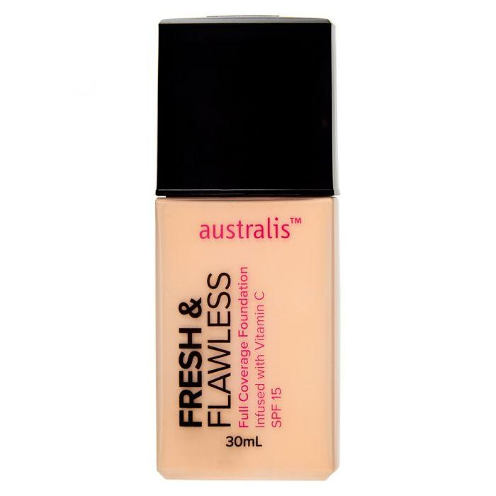 AUSTRALIS Fresh & Flawless Full Coverage Foundation - Fairest