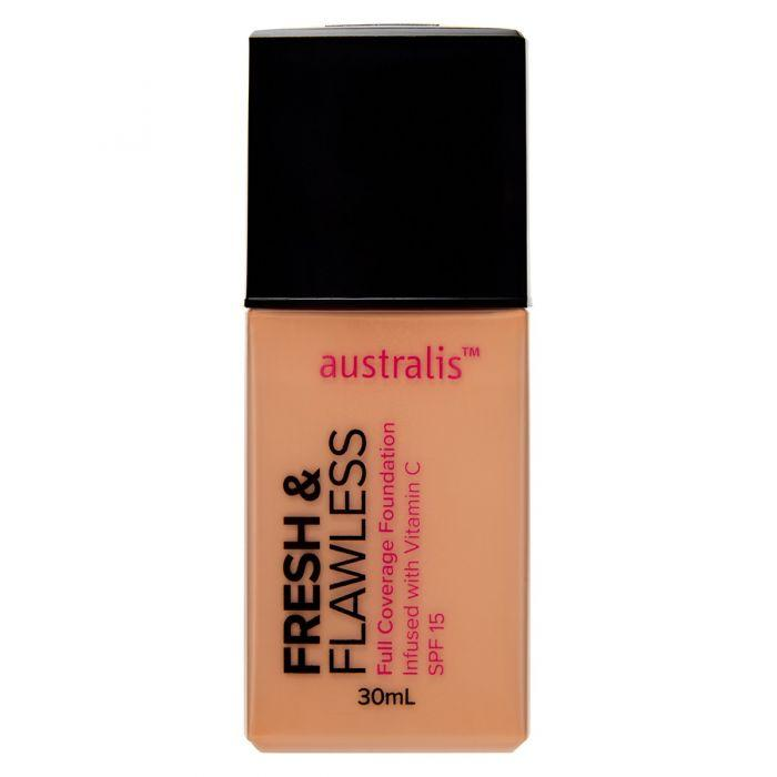 AUSTRALIS Fresh & Flawless Full Coverage Foundation - Fawn