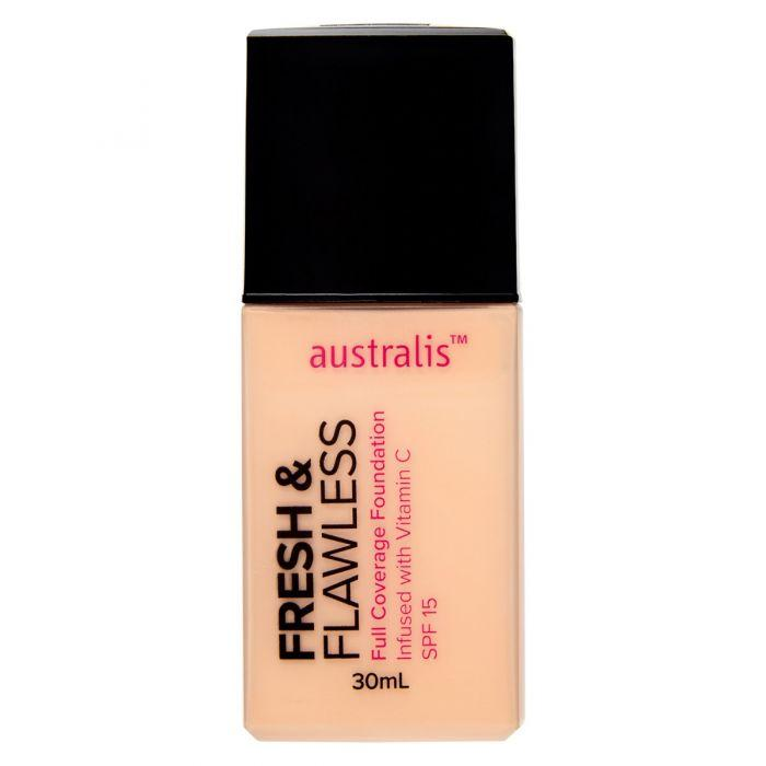 AUSTRALIS Fresh & Flawless Full Coverage Foundation - Light Neutral