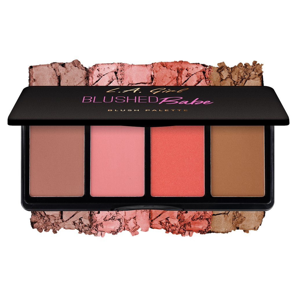 LA GIRL Fanatic Blush Palette - Blushed Babe