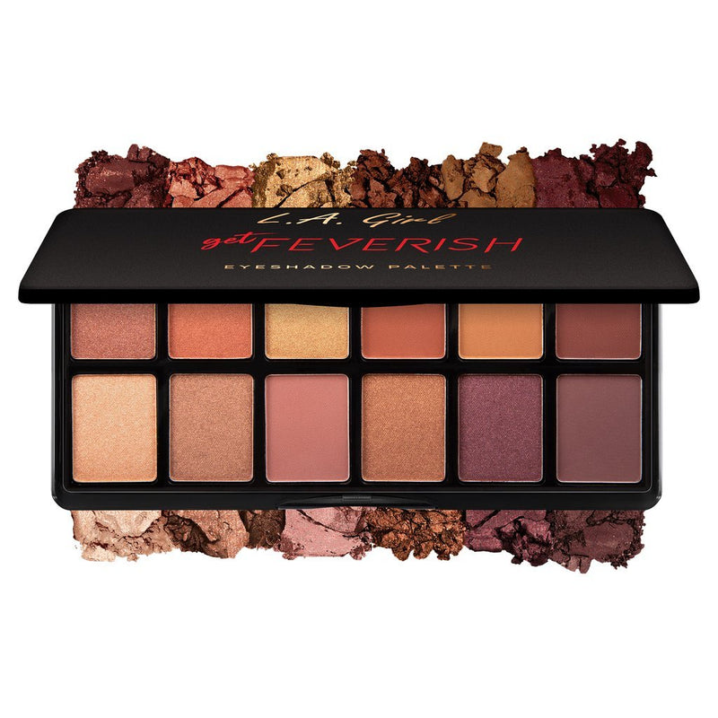 LA GIRL Fanatic Eyeshadow Palette - Get Feverish