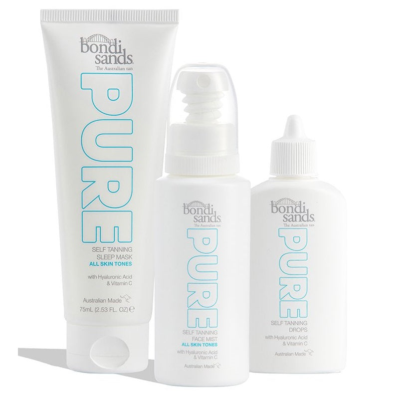 BONDI SANDS Get Up & Glow Bundle (RRP $80.97)