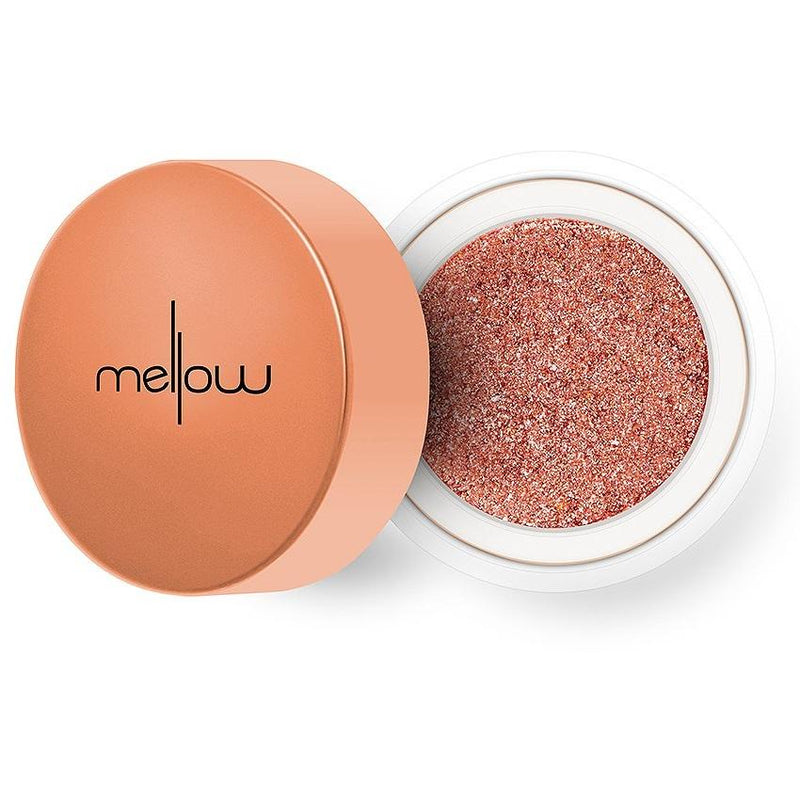 MELLOW Glitter Chrome Eyeshadow - Rose Gold