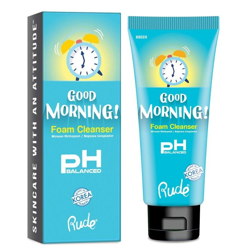 RUDE Good Morning Foam Cleanser - pH Balanced